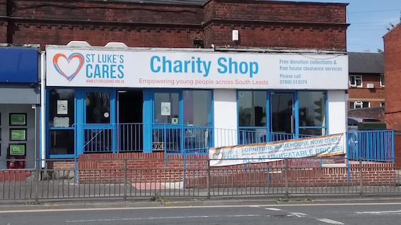 St Lukes shopfront