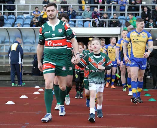 Hunslet RLFC v Leeds RhinosHarry Jepson OBE  Memorial Cup, 2017 Rugby League Pre- Season Friendly