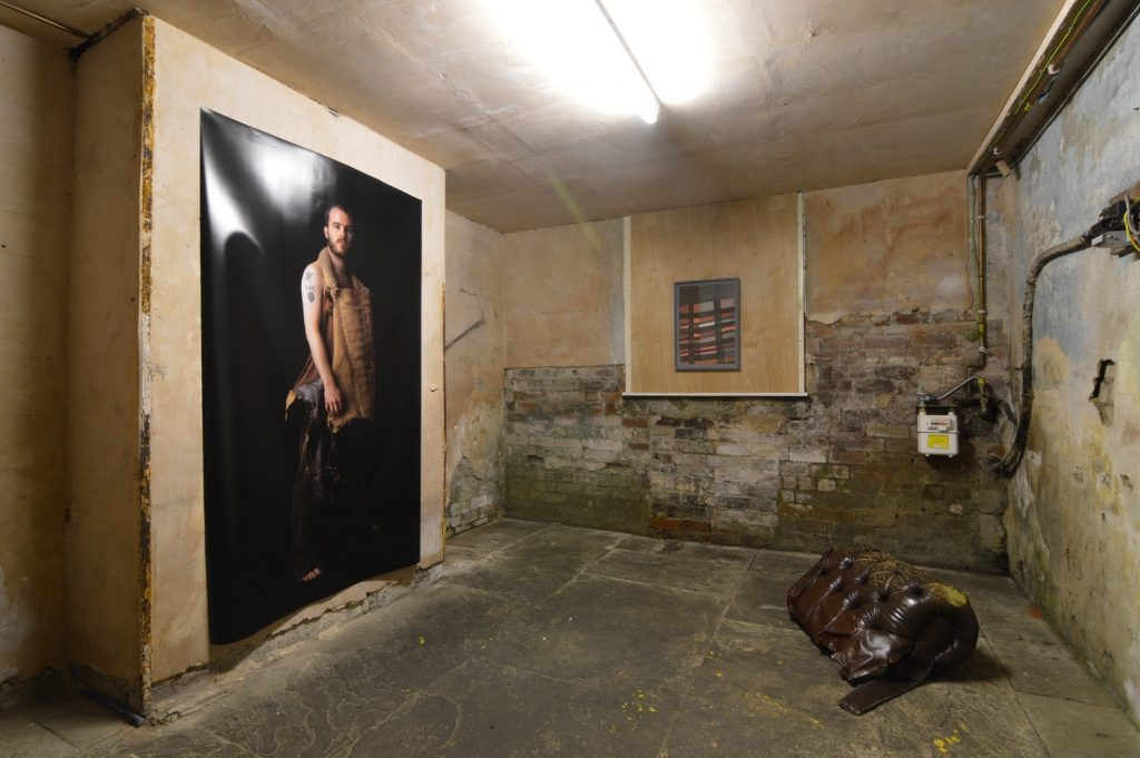 Home Address - Installation View (2015) Ryan Riddington