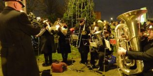 When are the Christmas Lights being switched on in South Leeds?