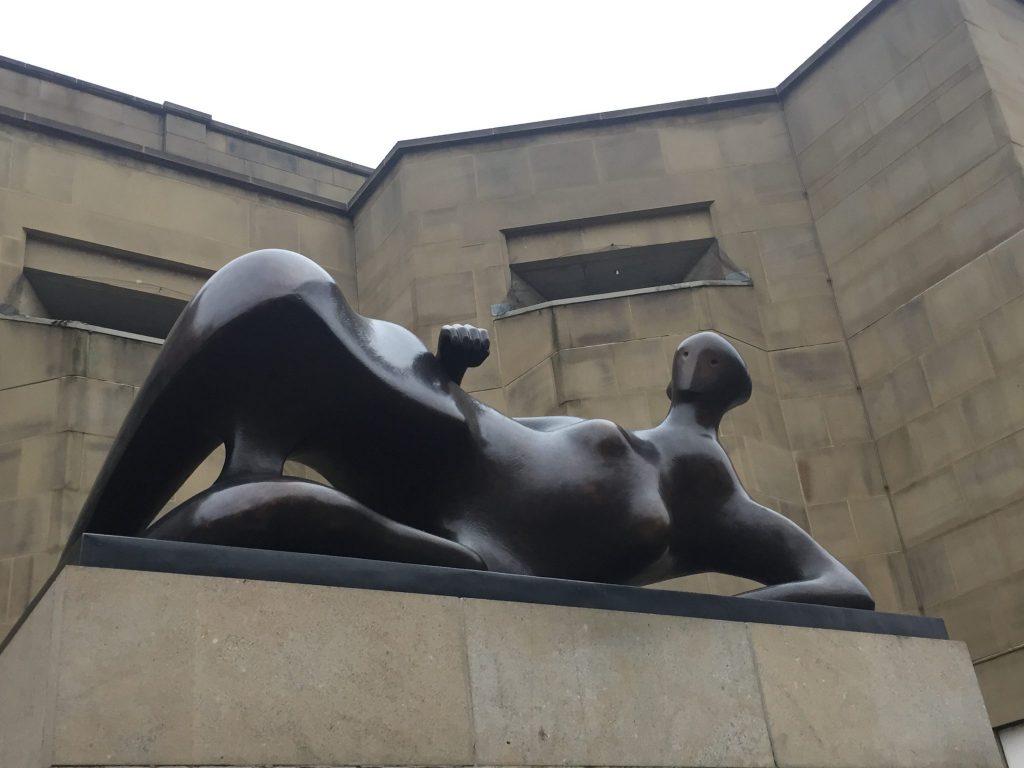 Reclining Figure (Elbow). Leeds Art Gallery