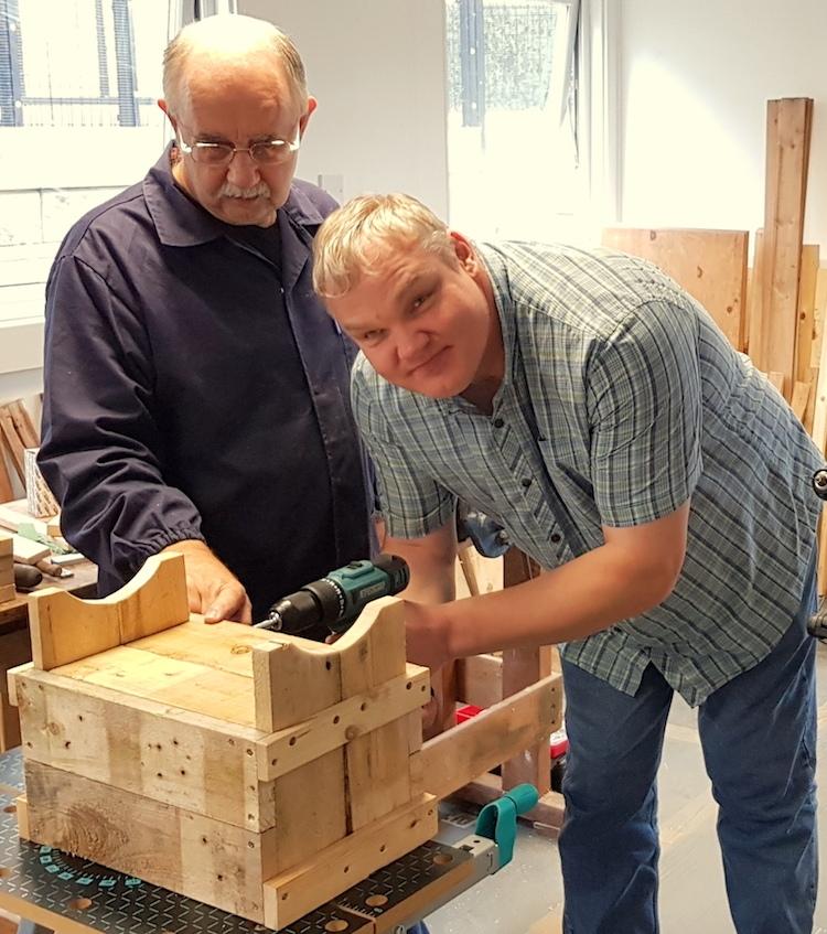 Skills Hub woodwork2
