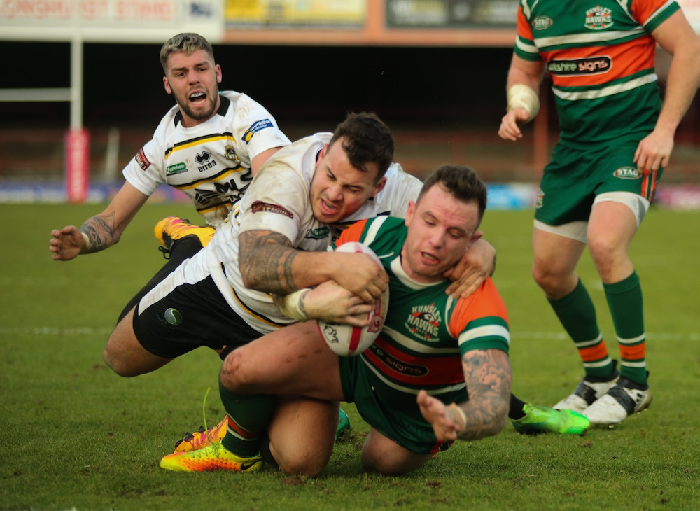 York City Knights v Hunslet RLFC