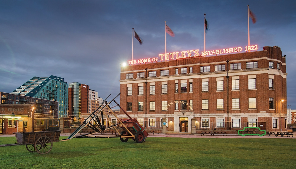 The Tetley night