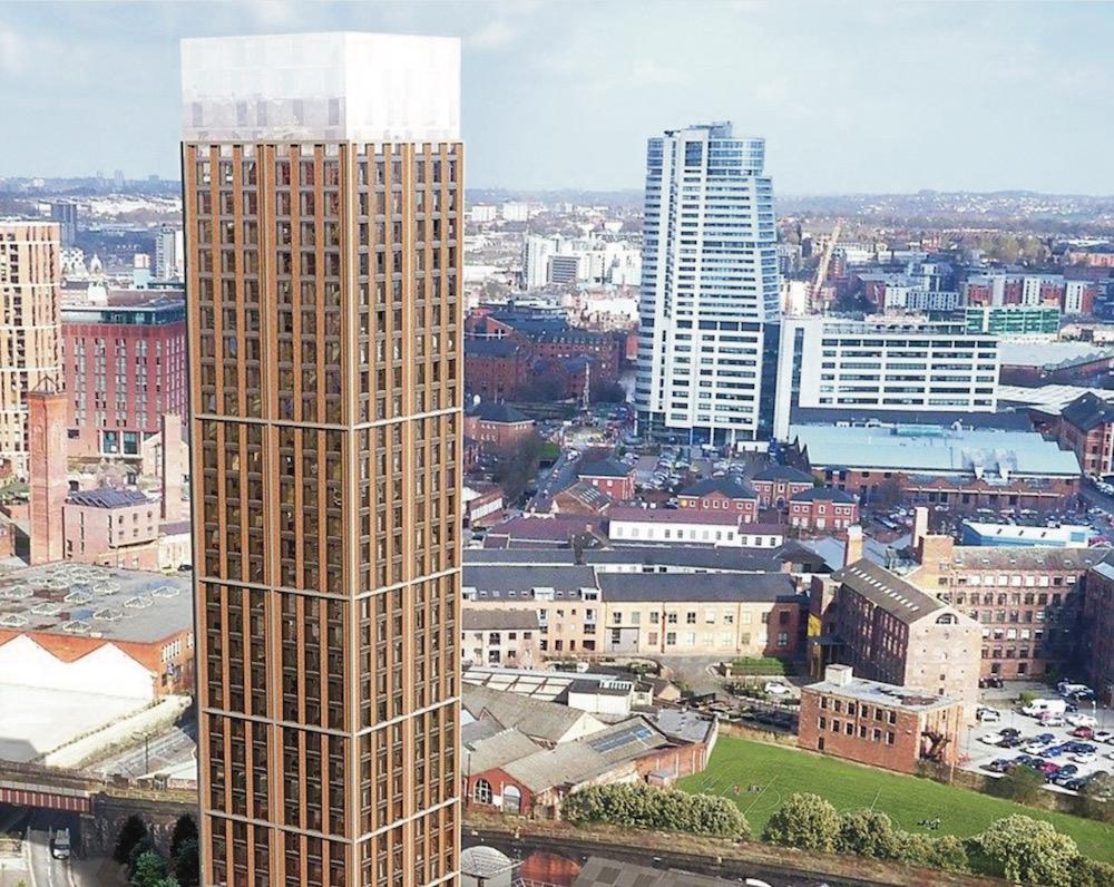 Midland Mills tower