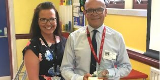 West Yorkshire Supply Teacher of the Year nominated by Hunslet Carr