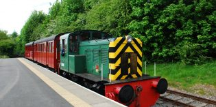 Diesel replaces steam at Middleton Railway