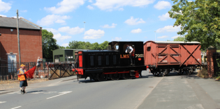 Middleton Railway is back on track