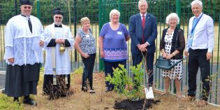 Tree planting marks Hunslet St Mary's new extension
