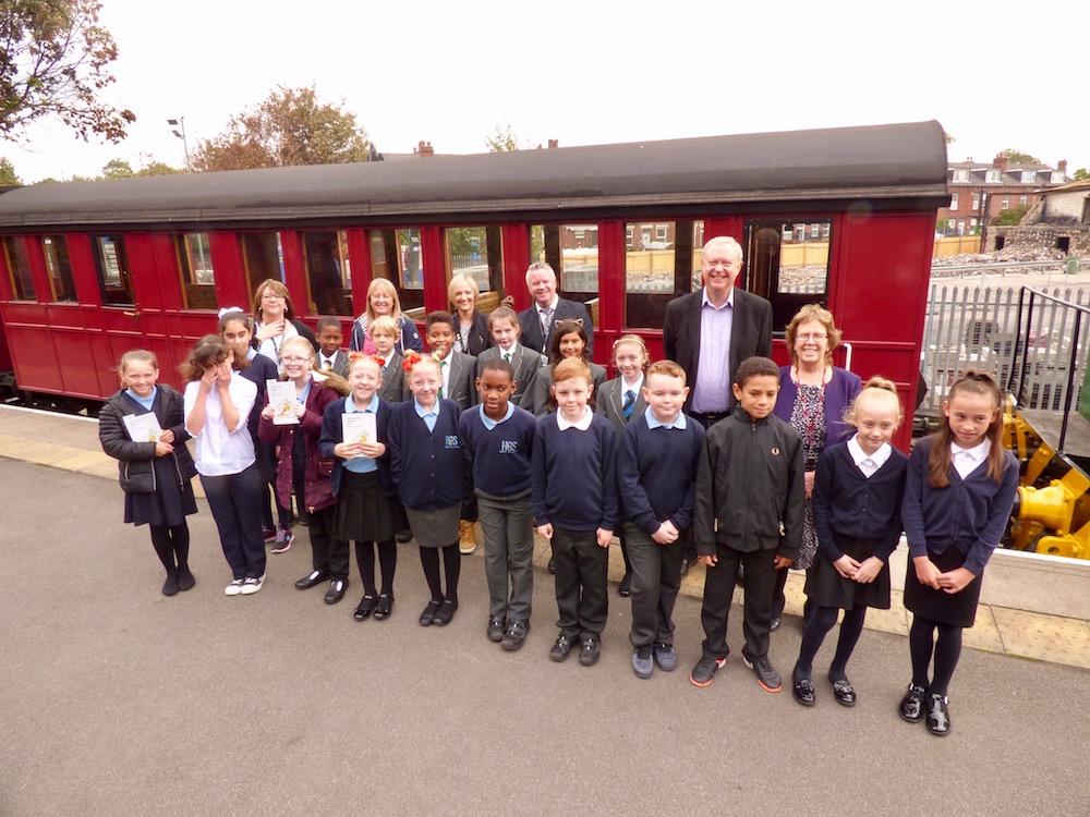 Last Coals Middleton Railway schools 06