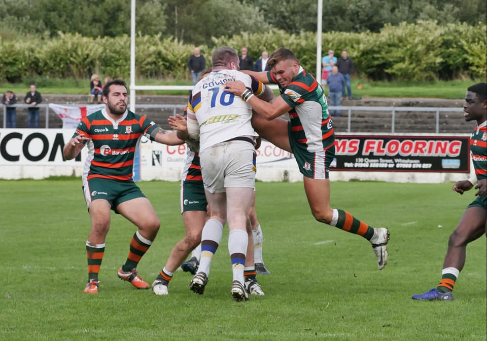 Whitehaven v Hunslet Sept 18 01