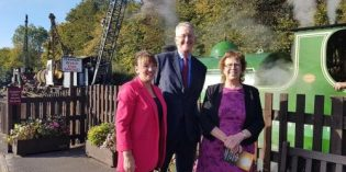 Middleton Railway commemorate 50 Anniversary closure of Broom Colliery