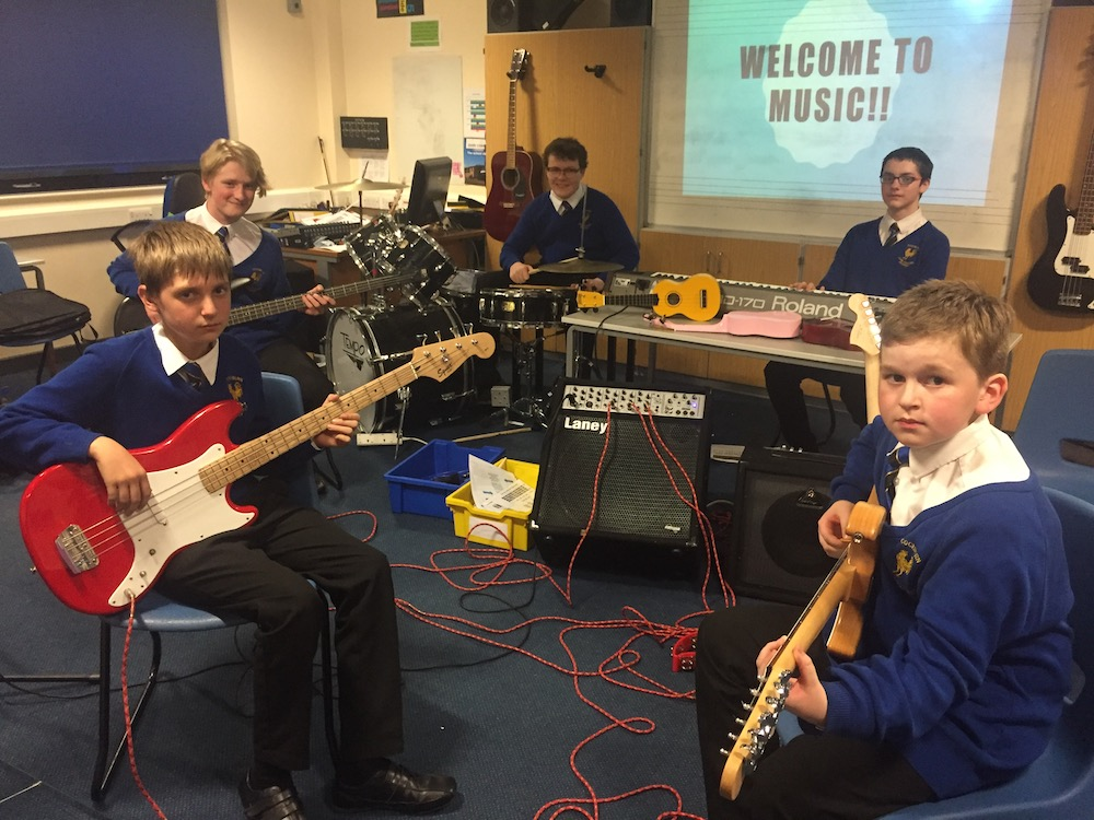 CJCA Year 9 Rock Band