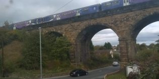 Woman hit by train at Cottingley