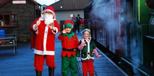 Steam's up for Santa Specials