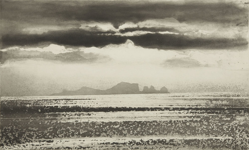 Norman Ackroyd From Malin Head, Tory Island, 2009