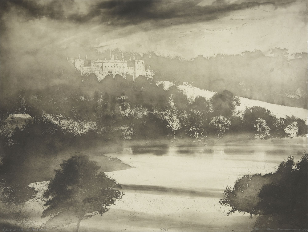 Norman Ackroyd Harewood in Autumn, 2007