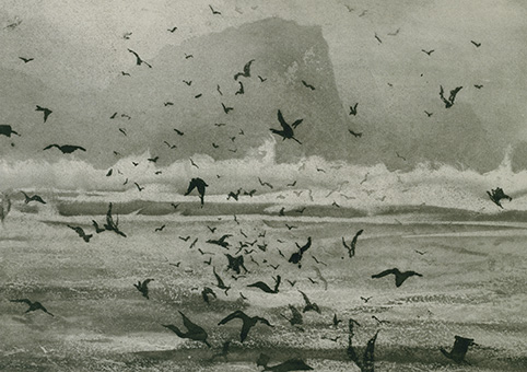 Norman Ackroyd High Island, Connemara, 2006
