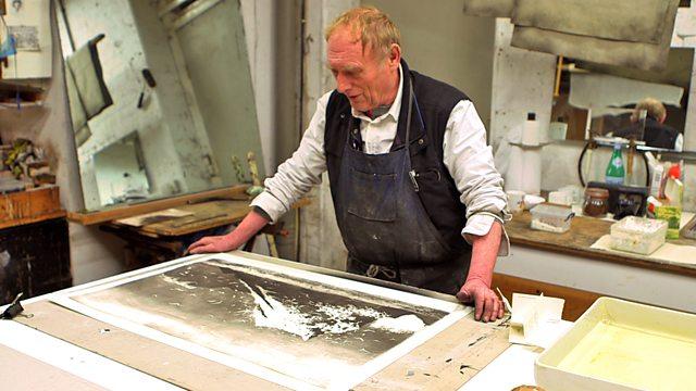 Norman Ackroyd at work