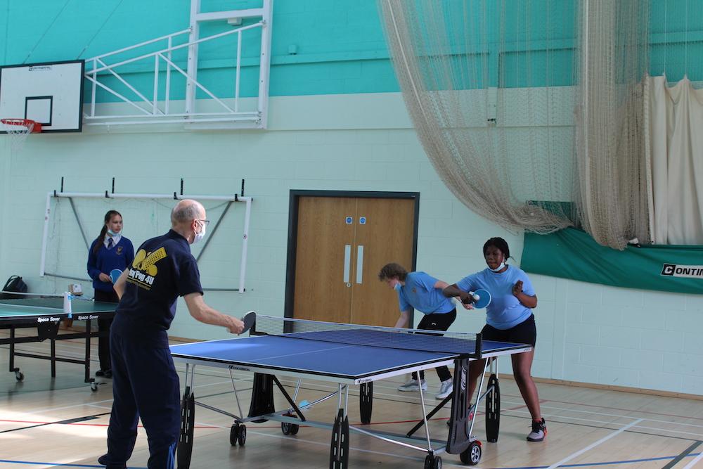 CJCA sport table tennis