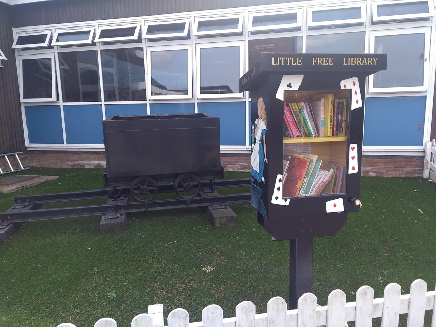 Clapgate Free Library and Middleton Railway