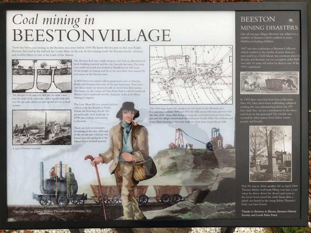 Coal mining in Beeston board