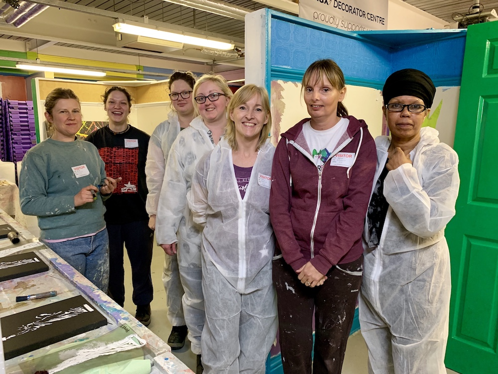 Construction college celebrates 30% rise in female