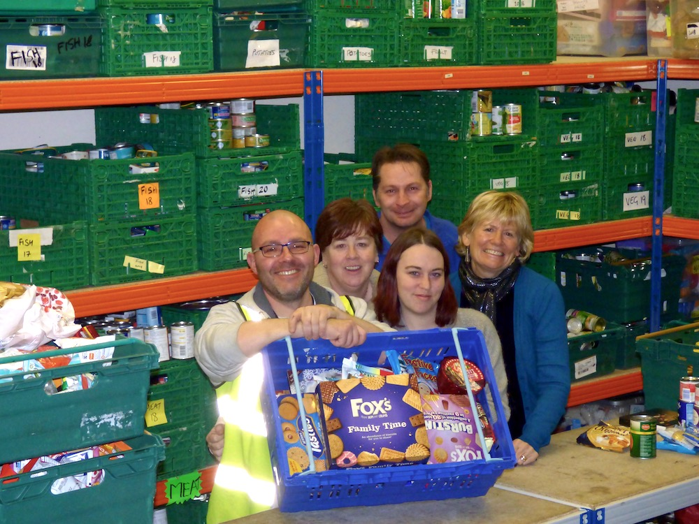 Middleton Asda Customers Donate 700 Kg Of Food Aid South