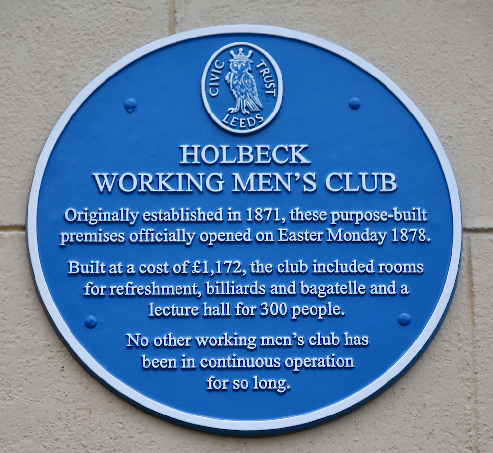 Holbeck Blue Plaque 11
