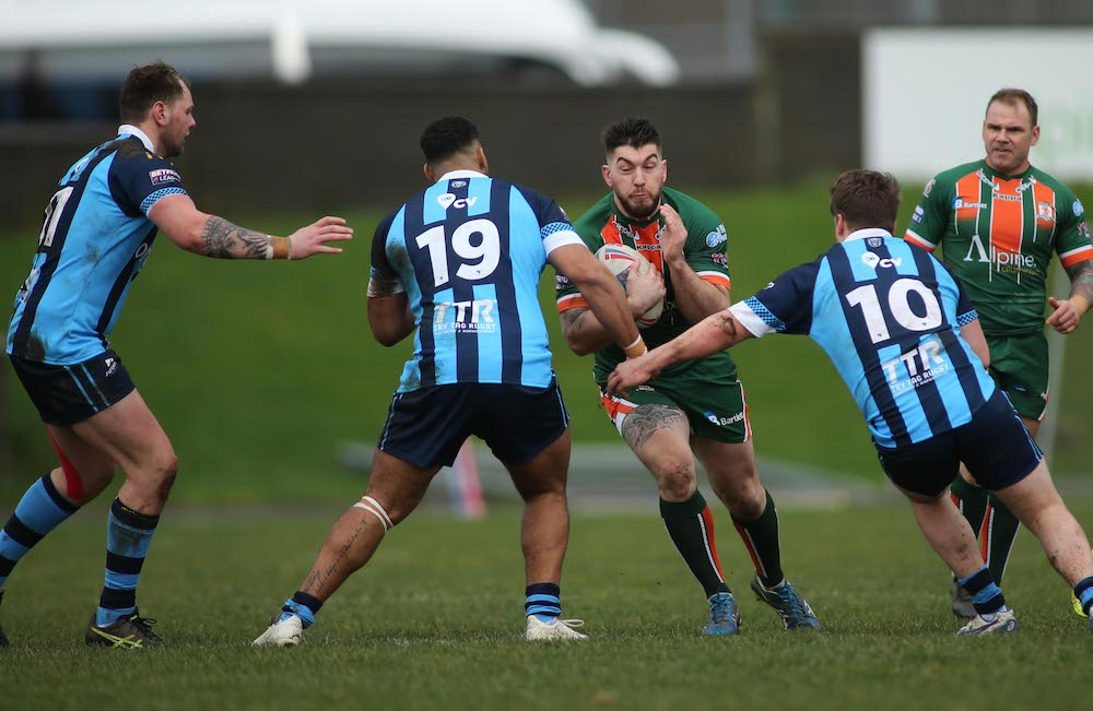 Coral's Challenge Cup Hunslet RLFC v Coventry Bear's