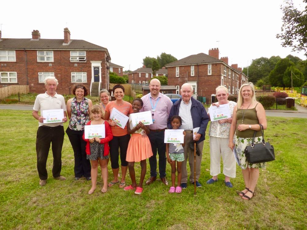 Millshaw garden tenants