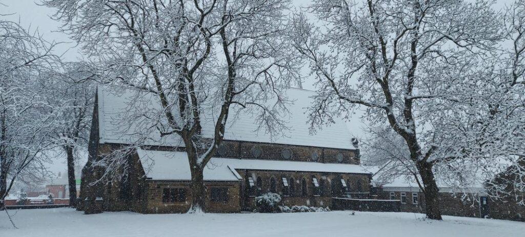 Snow 21 Beeston St Mary's Becci Almond