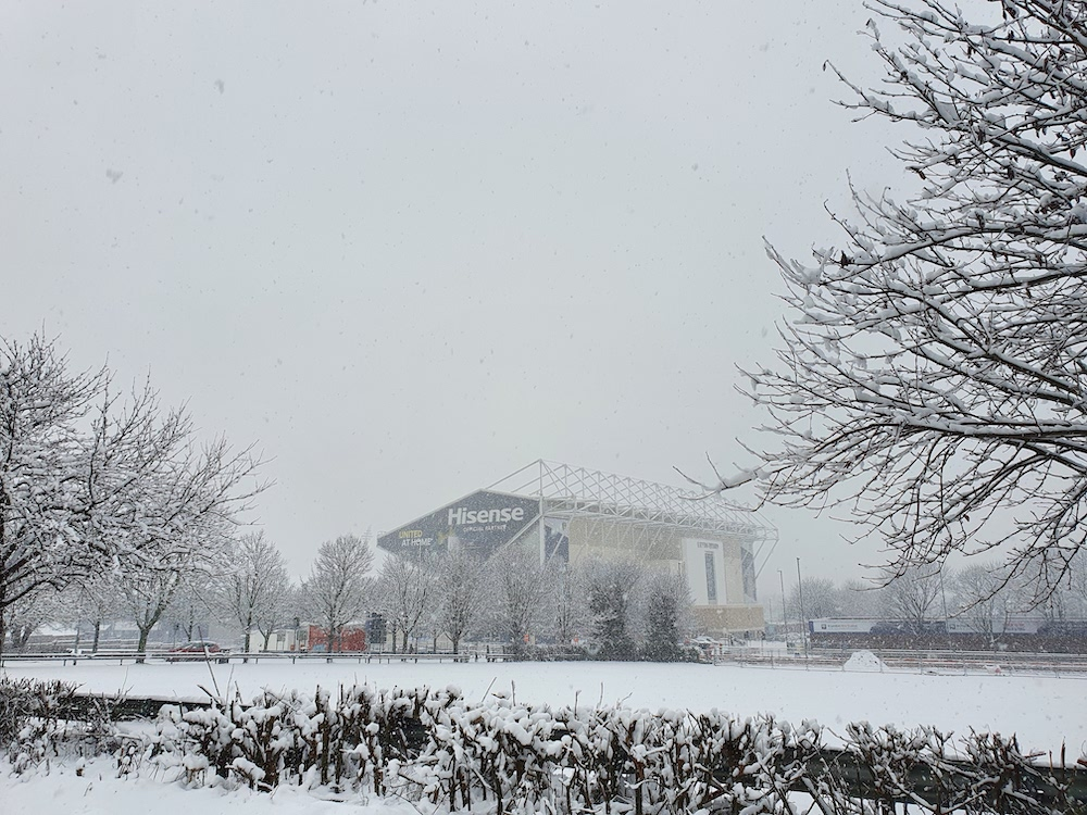 Snow 21 Elland Road Tanya Hammill