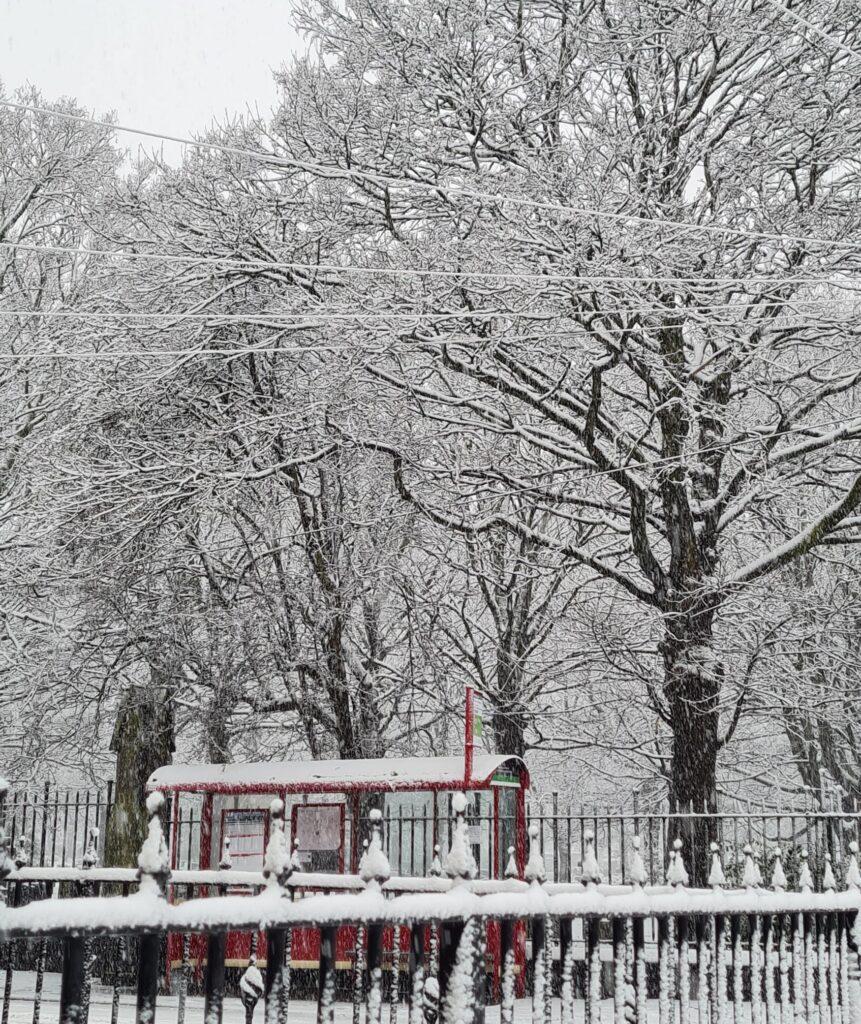 Snow 21 Hunslet Cemetery Tracy Garwood