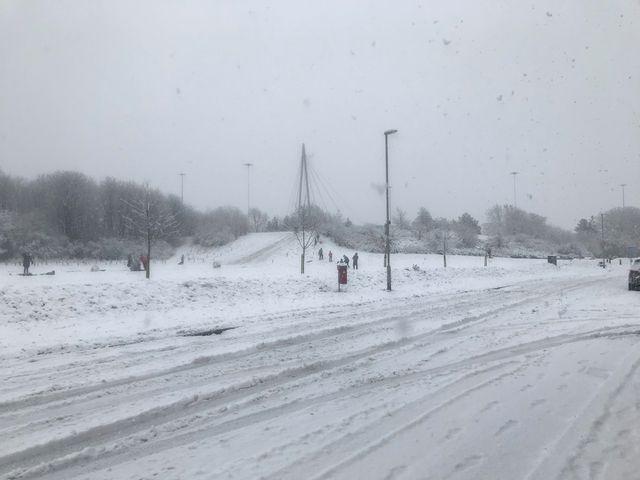 Snow 21 Hunslet Moor Brenda Barlow