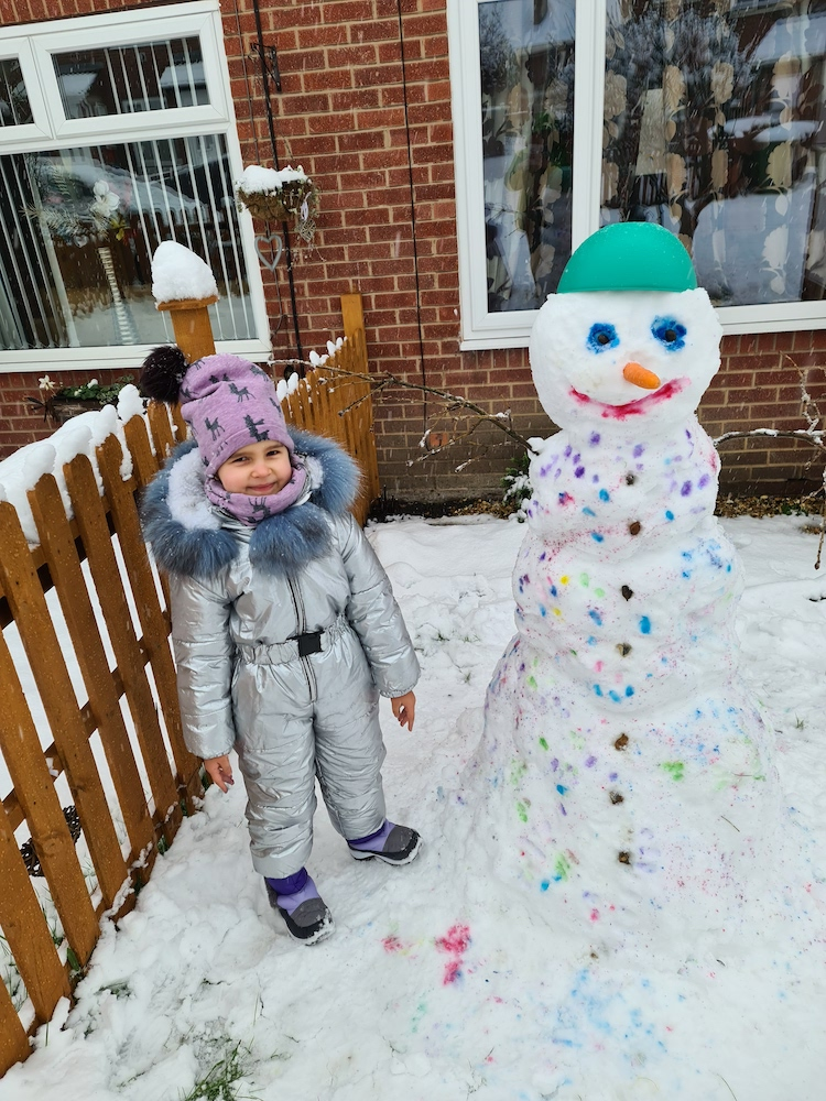 Snow 21 Snowman Lilija Kitkevič