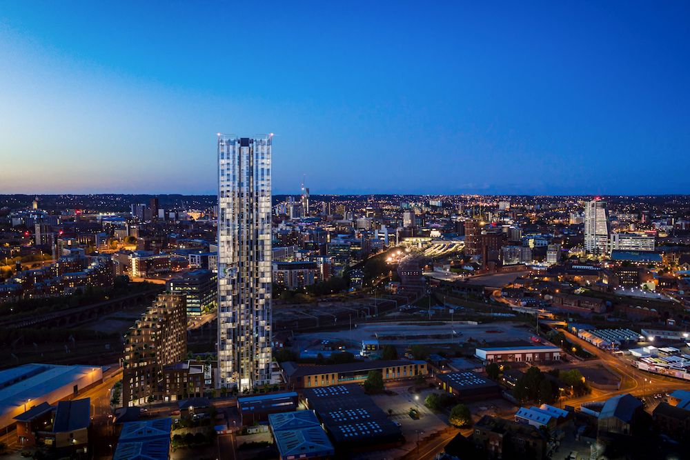 Plans submitted for 46 storey apartment block in Holbeck ...